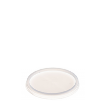 16NLID 74mm Natural Flat Plastic Lid